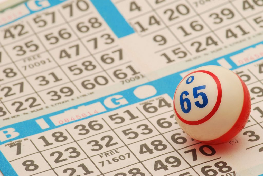 Spela på bingobrickan
