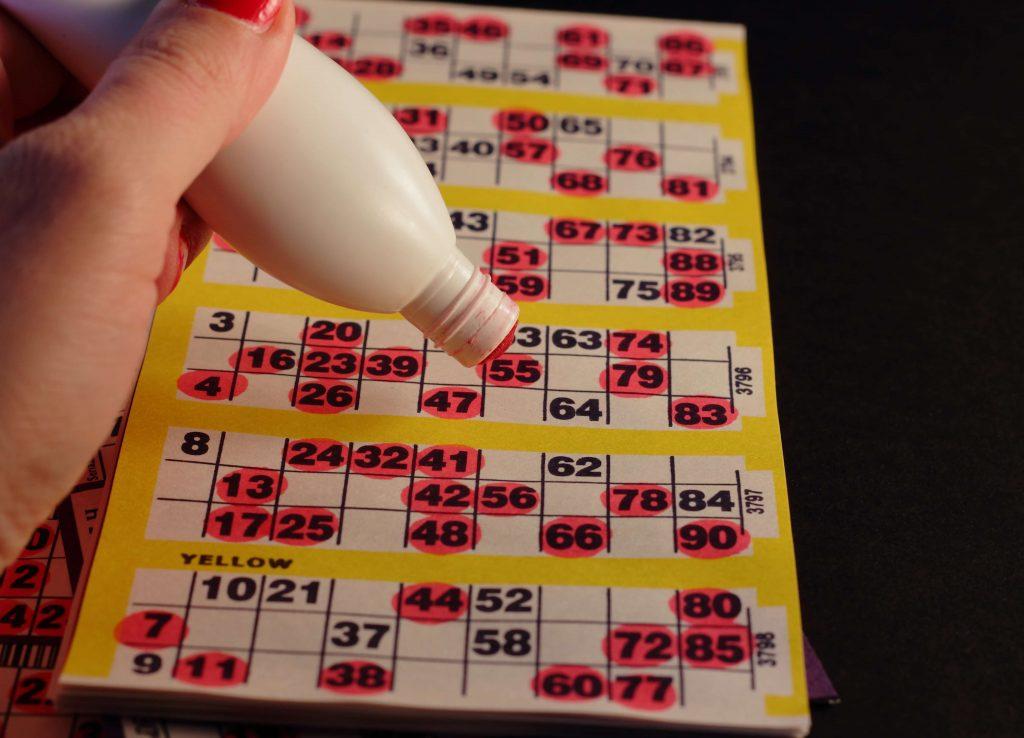 Bingo duttpenna